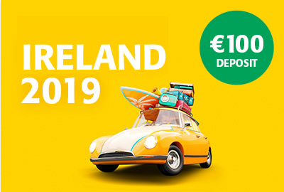 Ireland 2019 - with just €100 Deposit