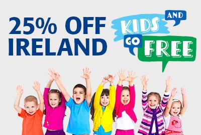save 25% on Irish Ferries to Ireland AND Kids Go Free! Read Full Story