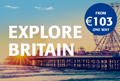 Explore Britain from €103