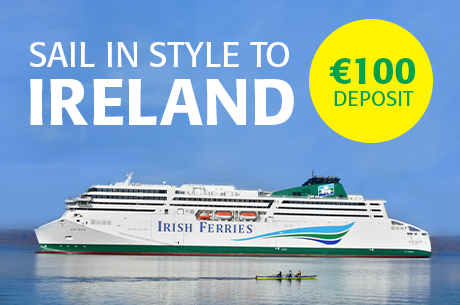 Ireland 2020 - with just €100 Deposit
