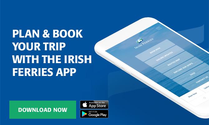 Ferry From UK To Ireland | Book Now | Irish Ferries