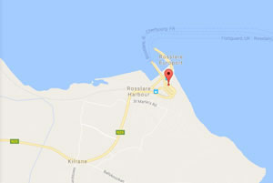 Travel Pembroke to Rosslare | Routes & Times | Irish Ferries on map of europe england, map of english airports, map of uk, map of red sea crossing,