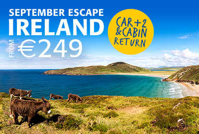 September Escape - Ireland from €249 return