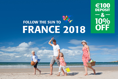 10% off to France 2018