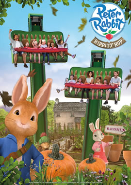 Peter Rabbit Hippity Hop ride