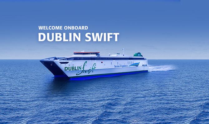 Ferry To Ireland From Holyhead >> Dublin Swift Fast Ferry Holyhead Dublin Irish Ferries
