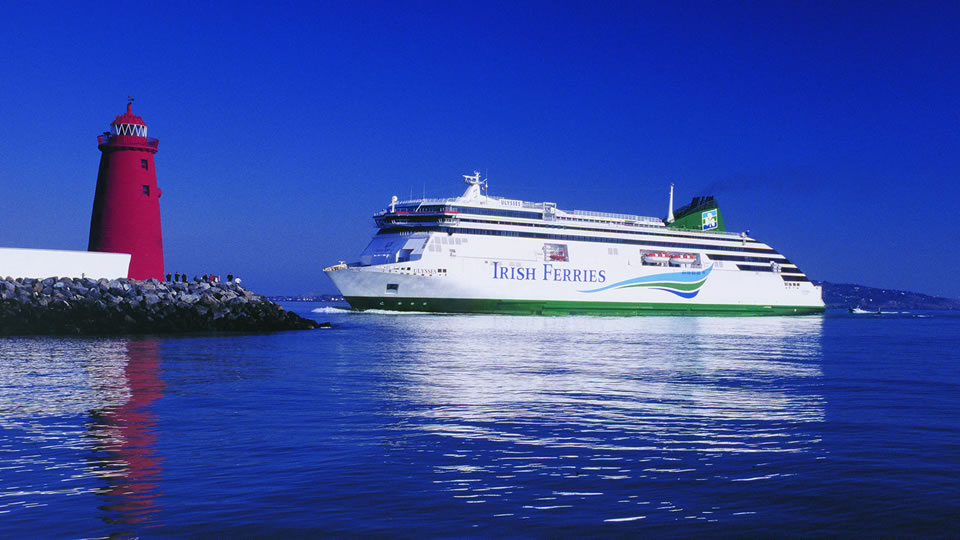 Luxury Cruise Ferry On The DublinHolyhead Route Ulysses - Cruise to ireland from us