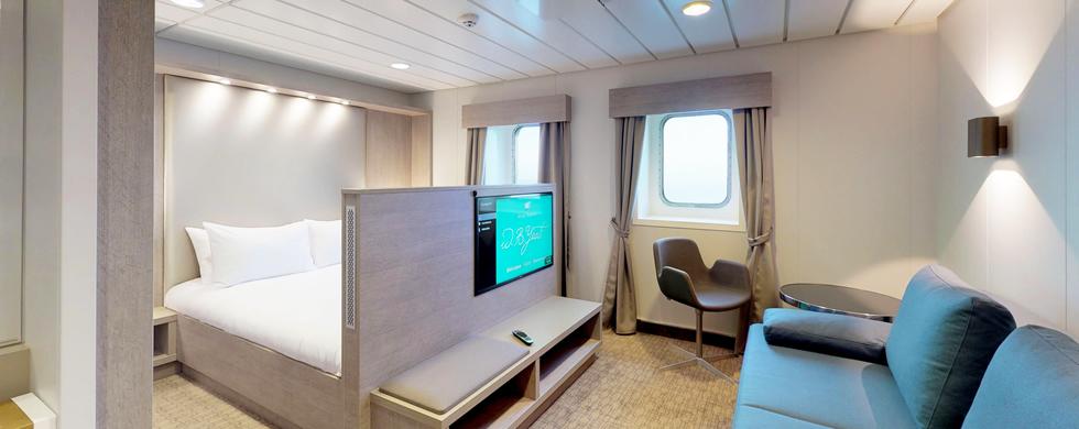 W B Yeats Luxury Cruise Ferry Irish Ferries